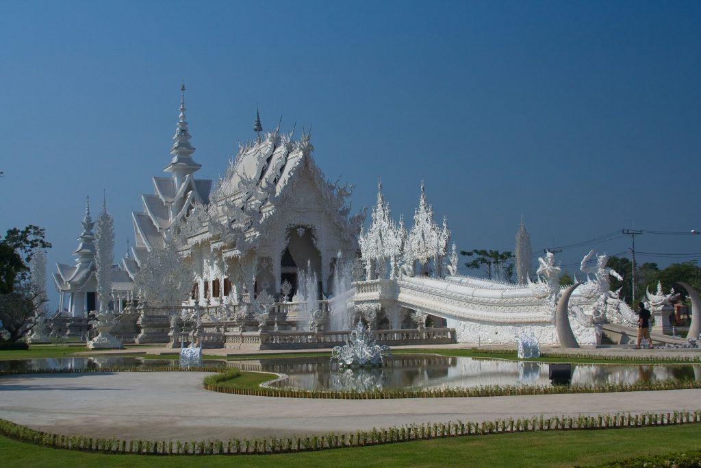 Weisse Tempel Chiang Rai