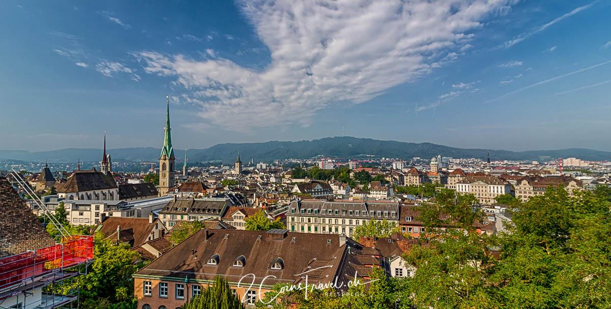 Panoramaterrasse ETH Zürich