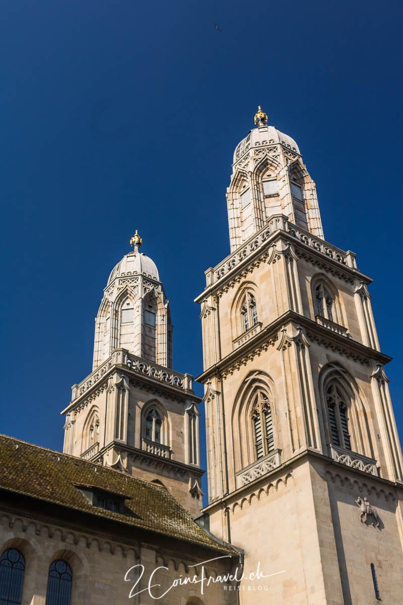 Zürich Grossmünster Kirche