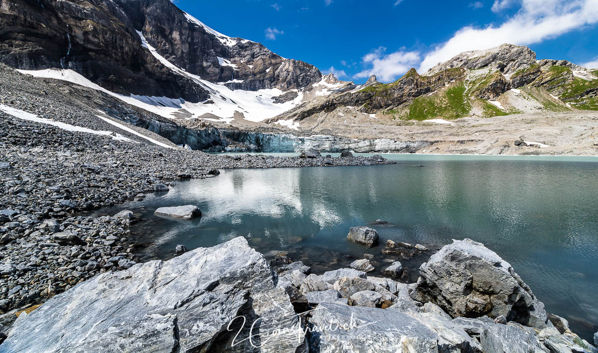 Gletschersee am Klausenpass