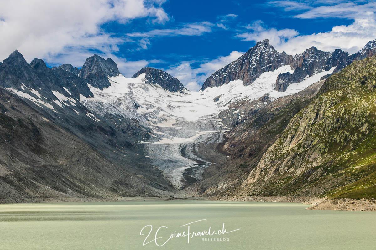 Oberaarsee und Gletscher