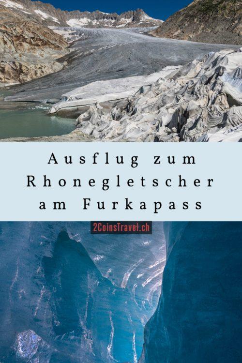 Pinterest Rhonegletscher