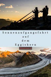 Pinterest Sonnenaufgang Eggishorn