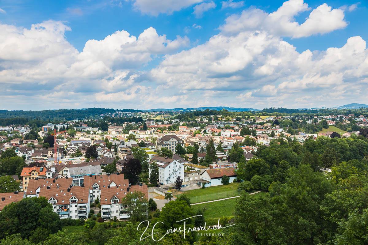Ausblick Schloss Uster