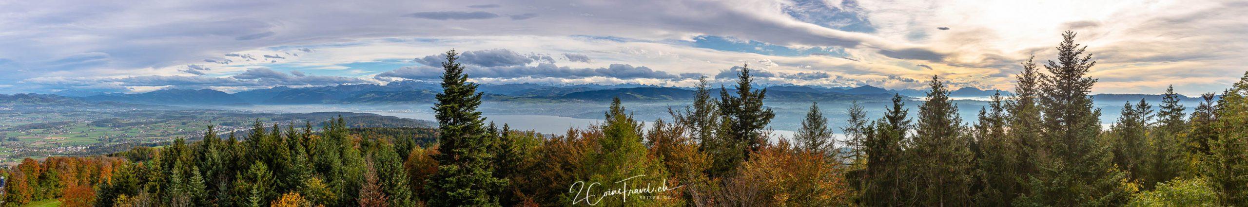 Panoramabild Pfannenstiel