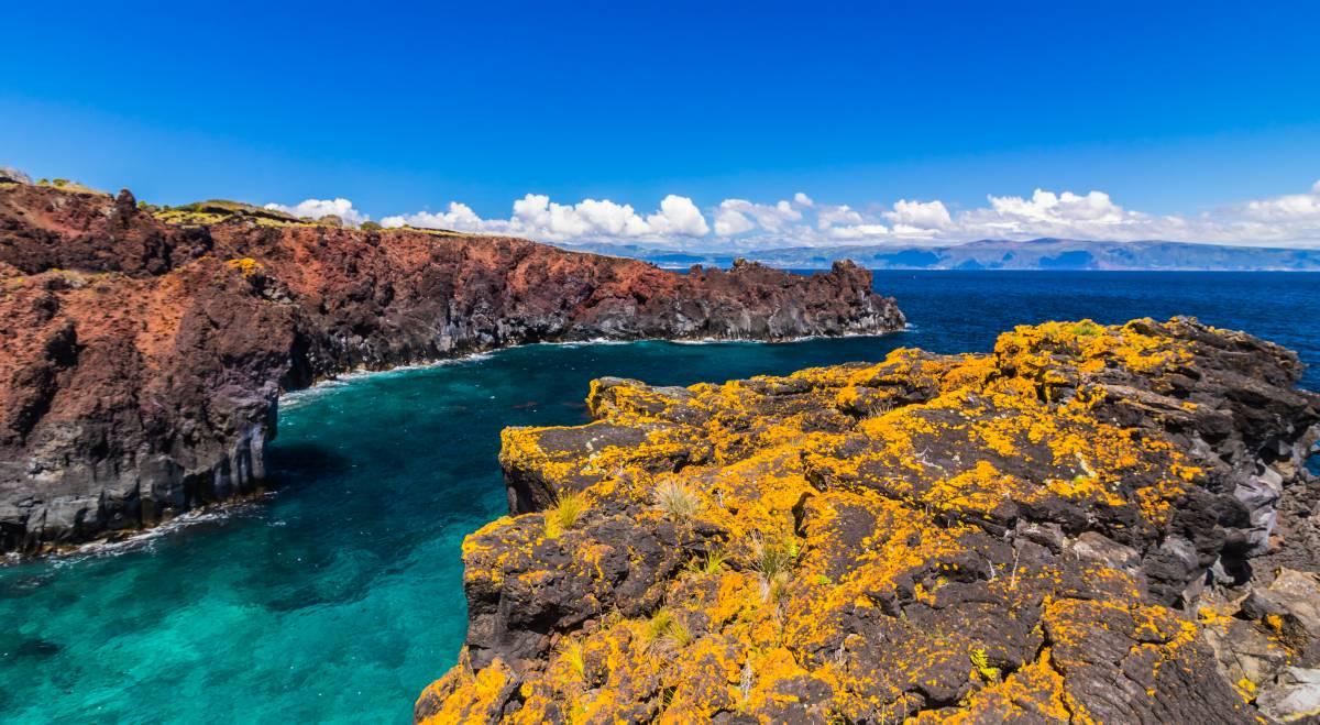 Küste bei Farol Ponta da Ilha