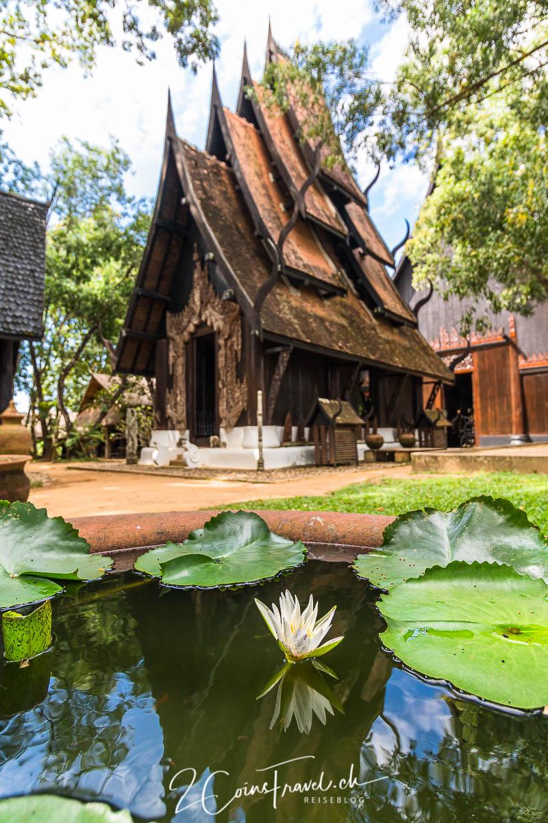 Schwarze Dorf/Haus Chiang Rai