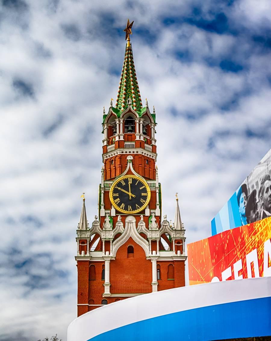 Kremeluhr Moskau