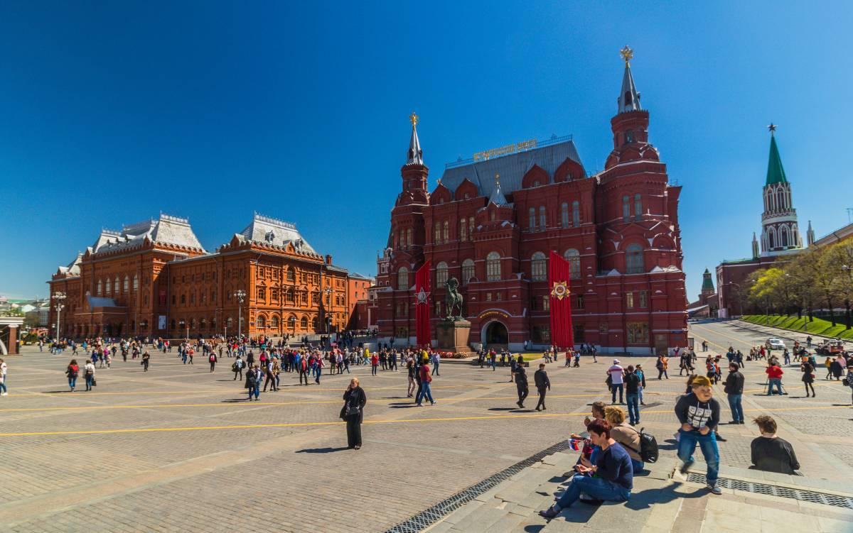 Kremelplatz Moskau