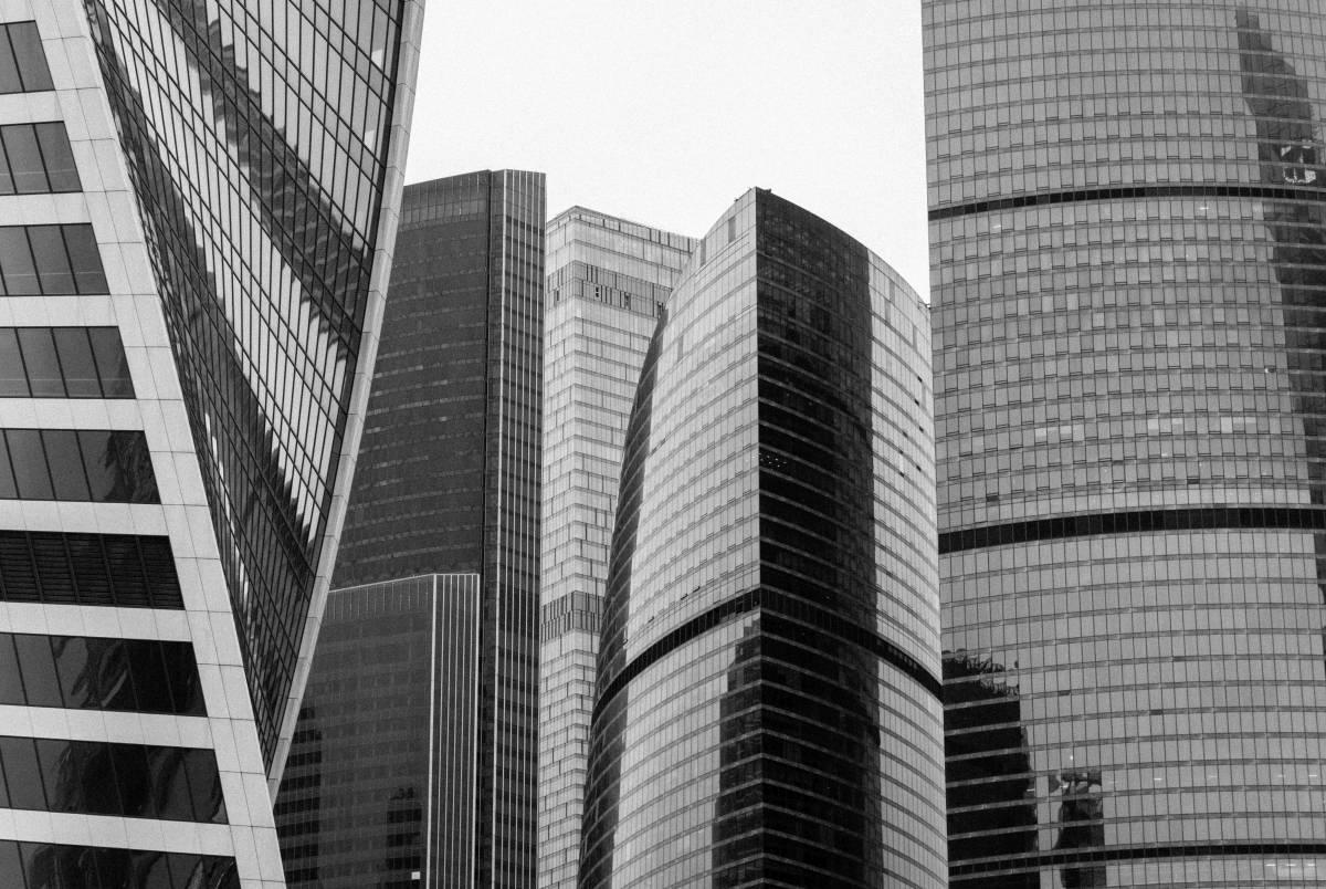 Moskau-City Wolkenkratzer