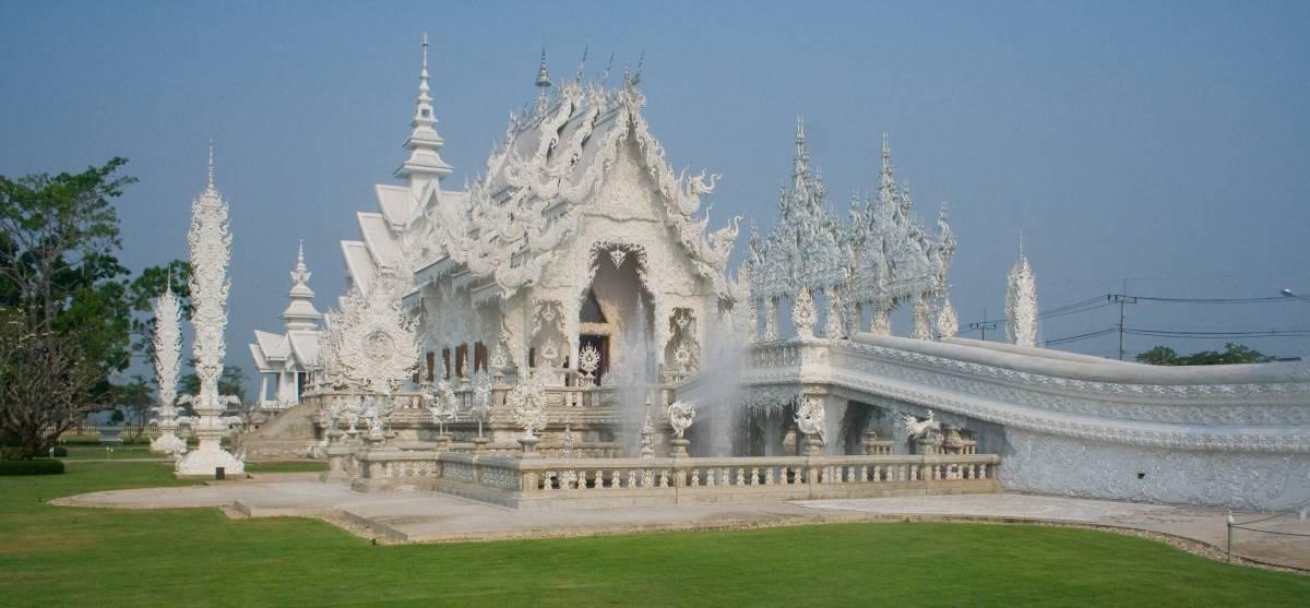 Wat Rong Khun in Chiang Rai 2008