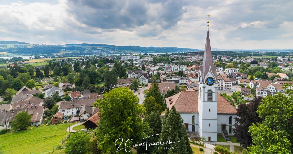 Blick auf die Stadt Uster