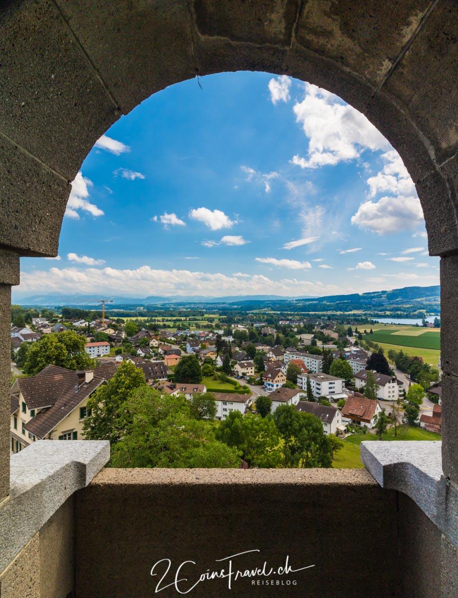Blick vom Schloss Uster