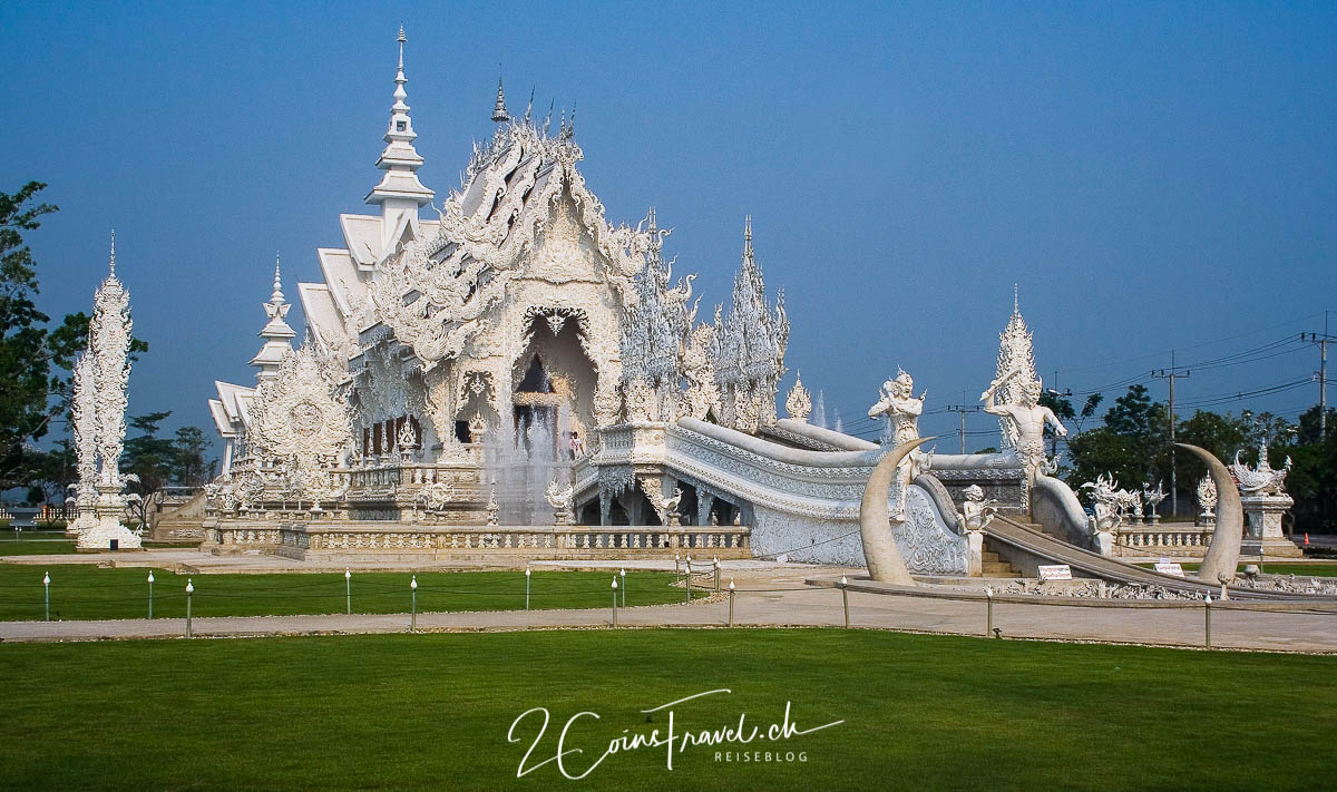 Blick auf den Weissen Tempel