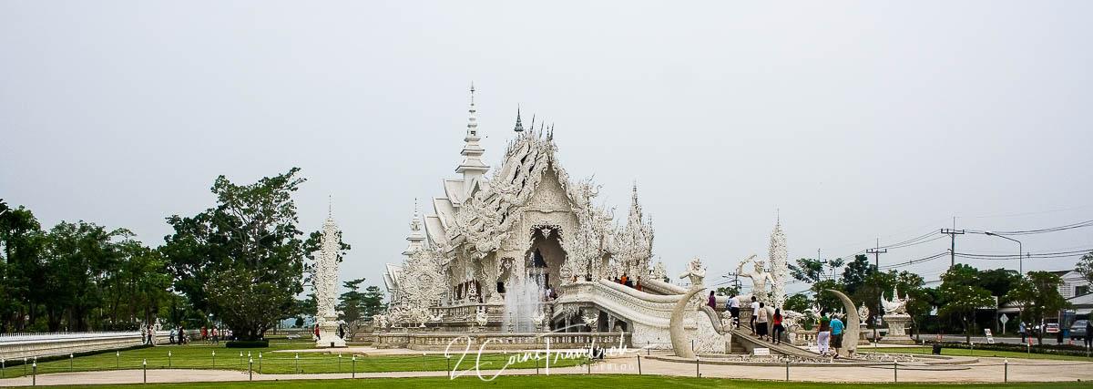 Panorama Wat Rong Khun