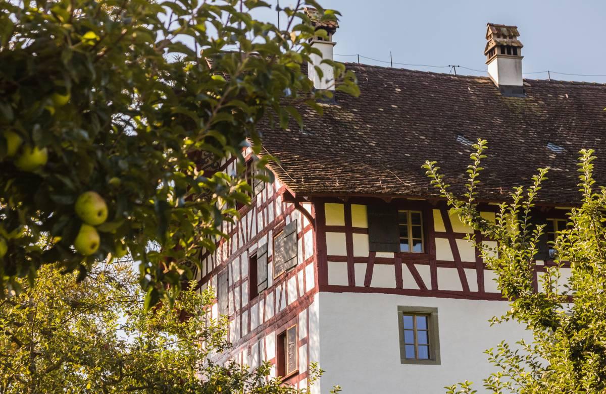 Bauernhaus in der nähe vom Lützelsee