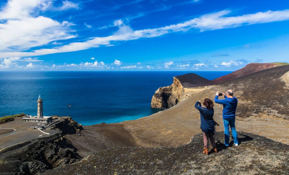 Vulkaninsel Capelinhos Azoren