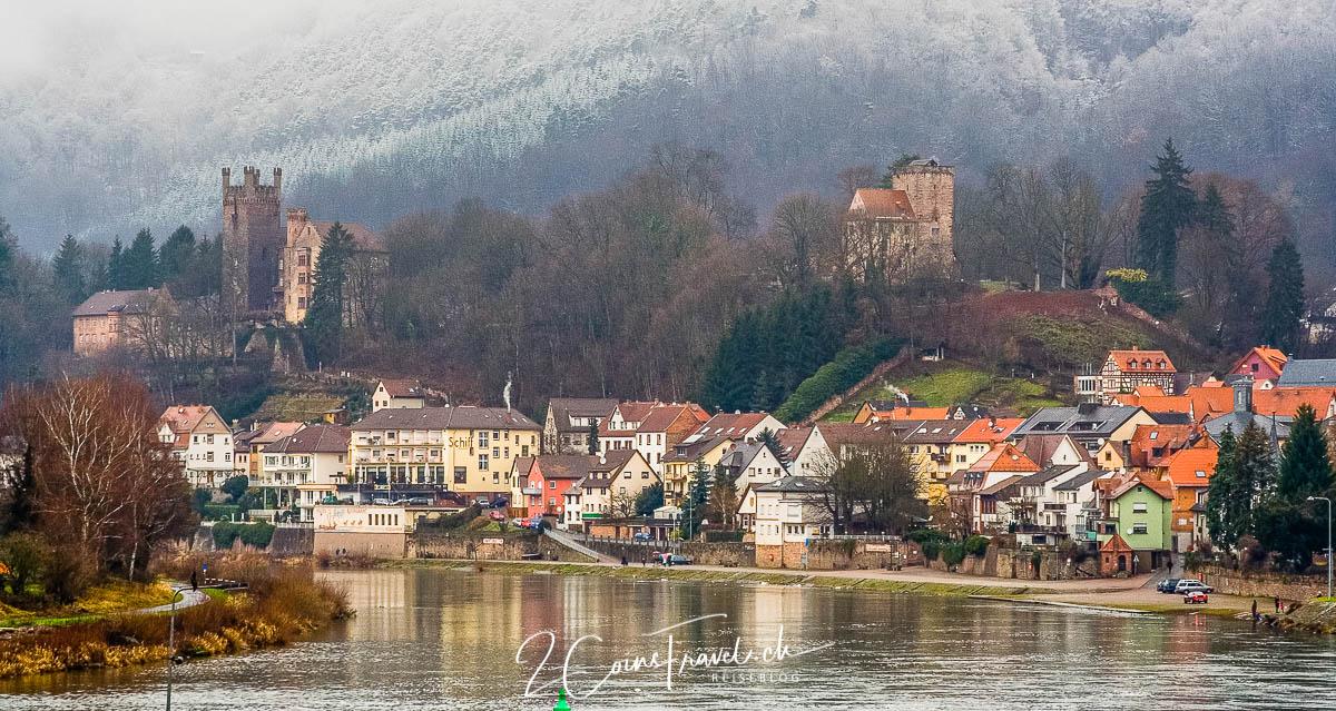 Neckarsteinach im Winter