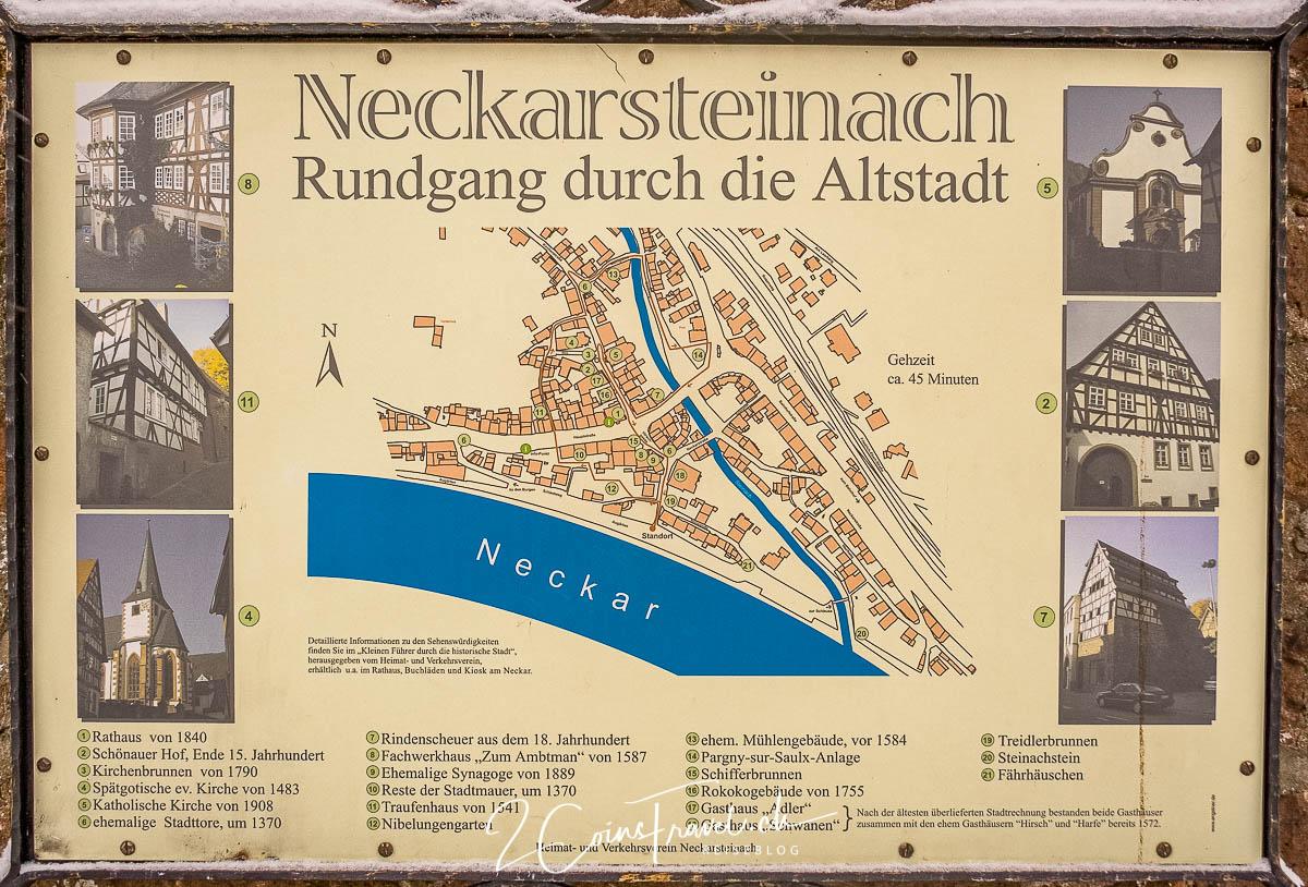 Neckarsteinach Infotafel