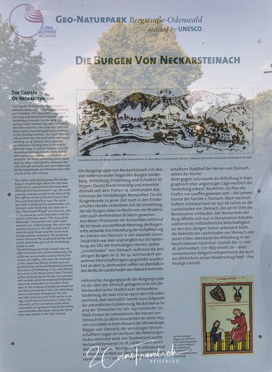 Die Burgen Neckarsteinach