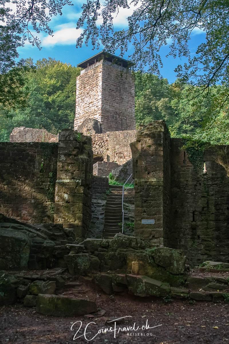 Hinterburg Neckarsteinach