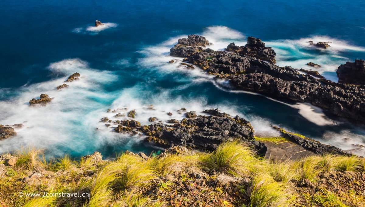 Blick runter nach Ponta da Costa