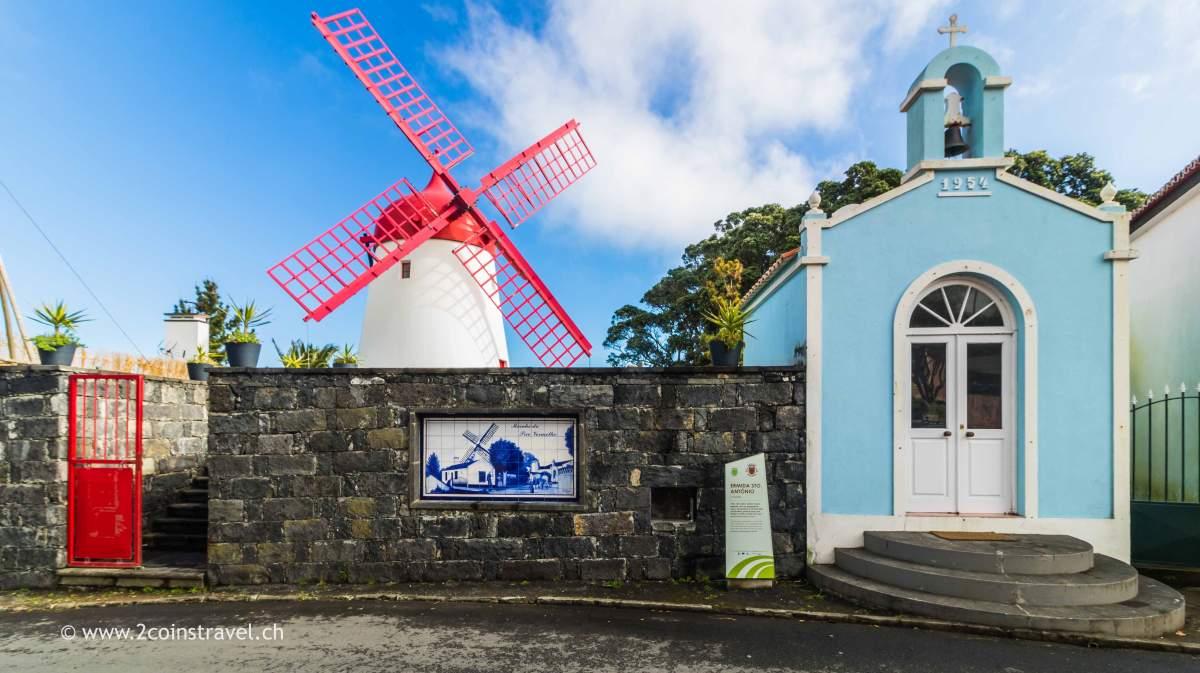 Windmühle von Moinho do Pico Vermelho