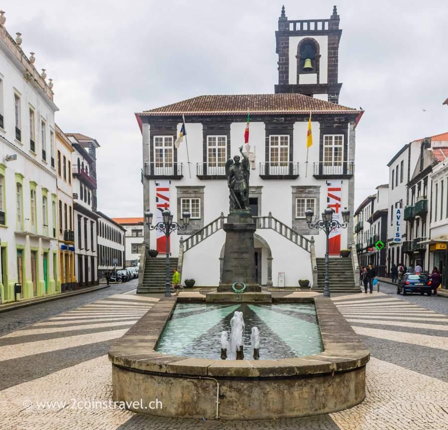 Rathaus von Ponta Delgada