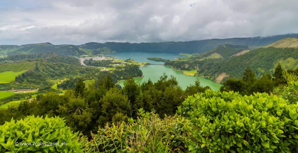 Blick vom Miradouro da Vista do Rei