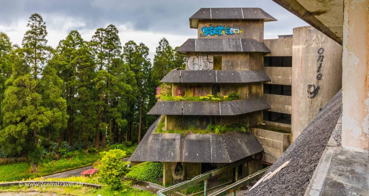 Aussen Ansicht Hotel Monte Palace Sao Miguel