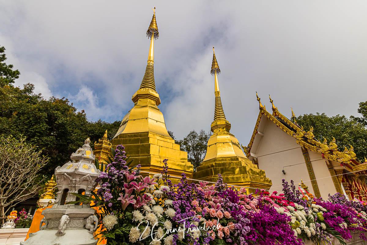 Wat Pha That Doi Tung Chiang Rai