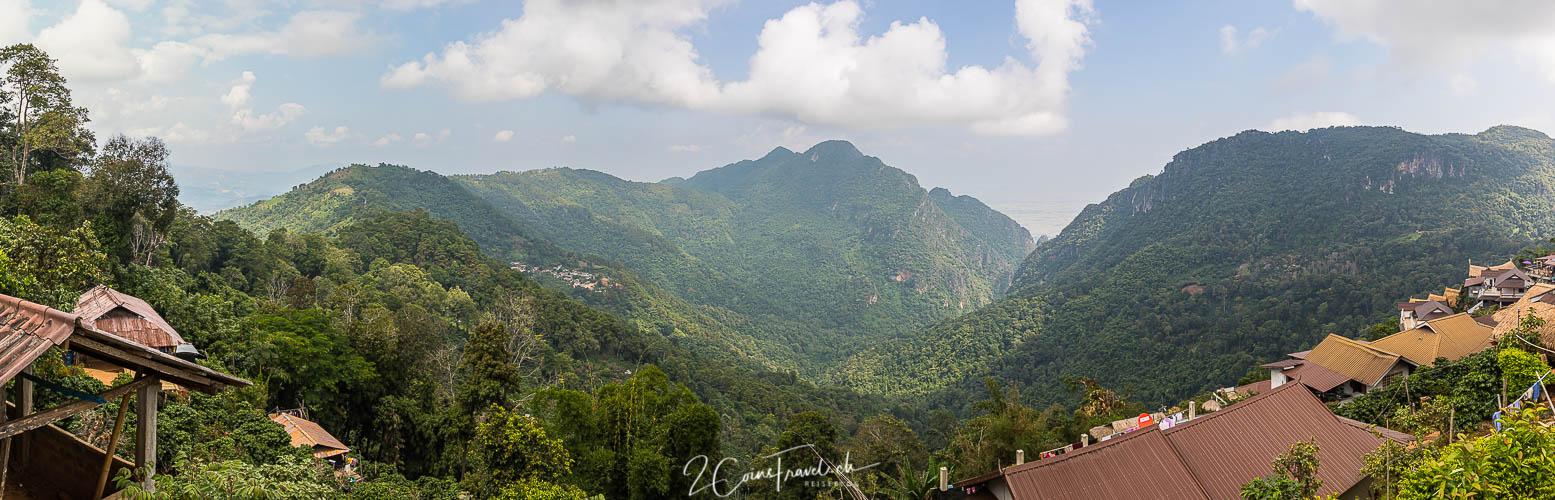 Panorama Pha Hi Village Chiang Rai