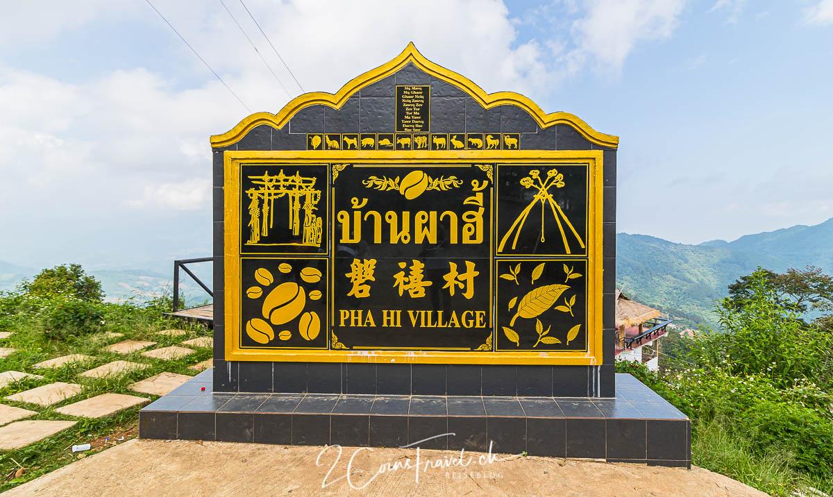 Pha Hi Village Chiang Rai
