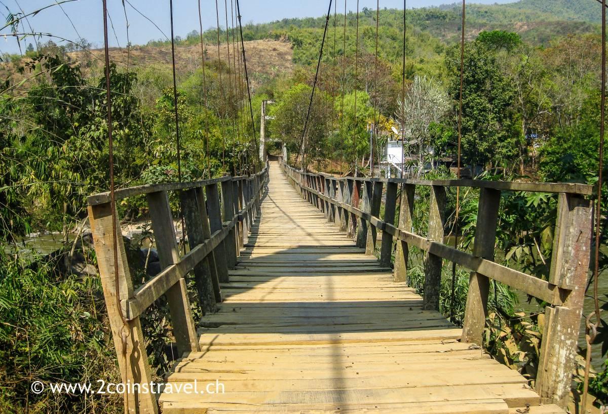 Hängebrücke Chaing Rai