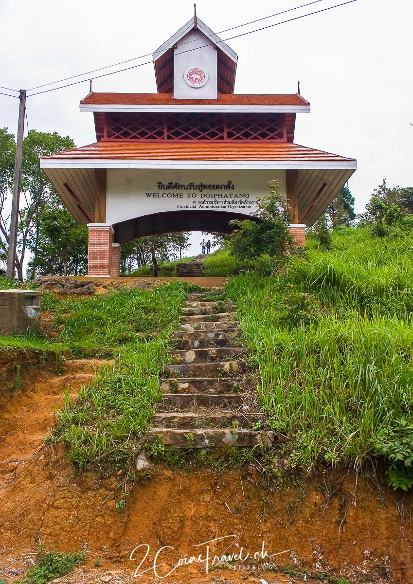 Treppe zum Doi Pha Tang