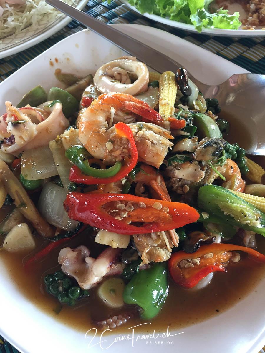 Malee Prawn & Fish Restaurant bei Thoeng