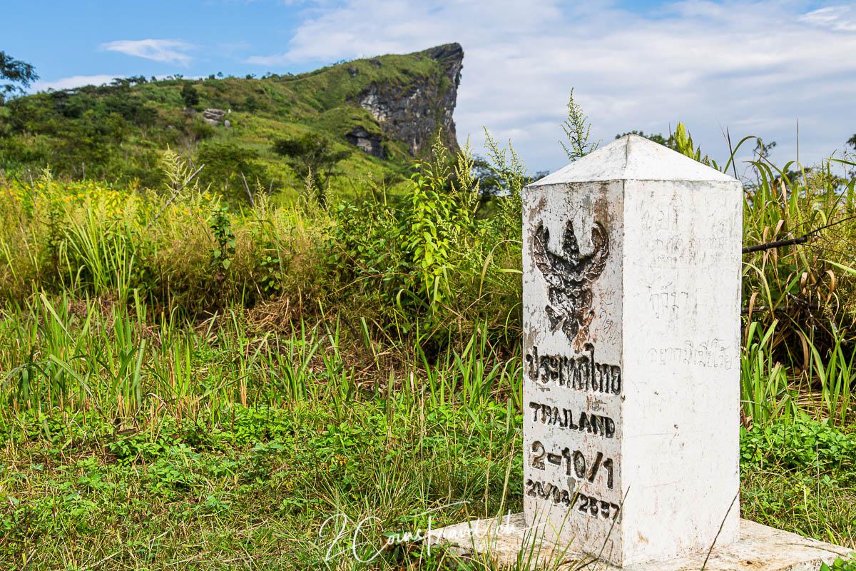 Grenzstein Phu Chi Fa