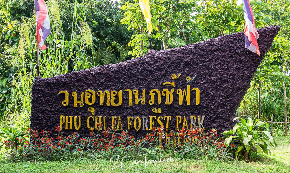 Eingang Phu Chi Fa