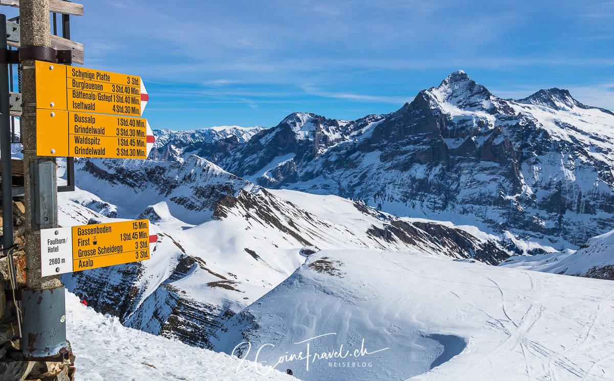Faulhorn Grindelwald