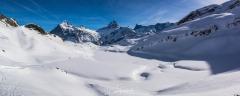 Panorama Bachalpsee Winter