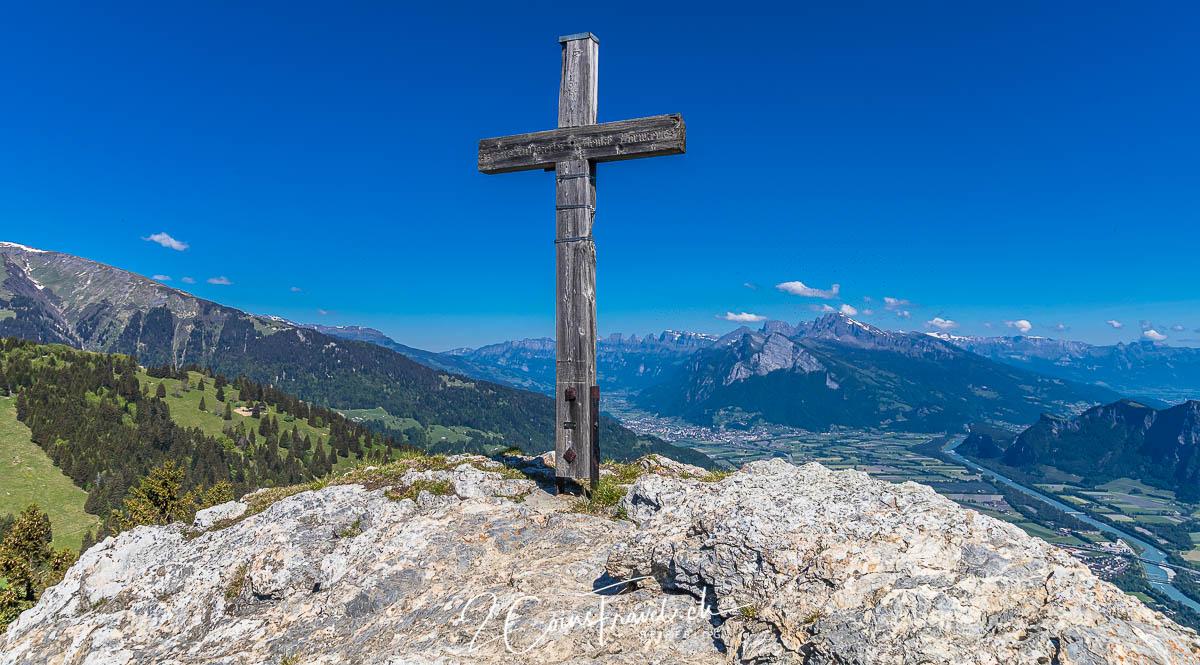 Gipfelkreuz Pizalun