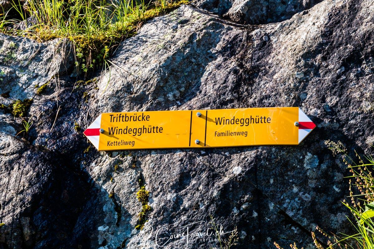 Wanderweg Windegghütte