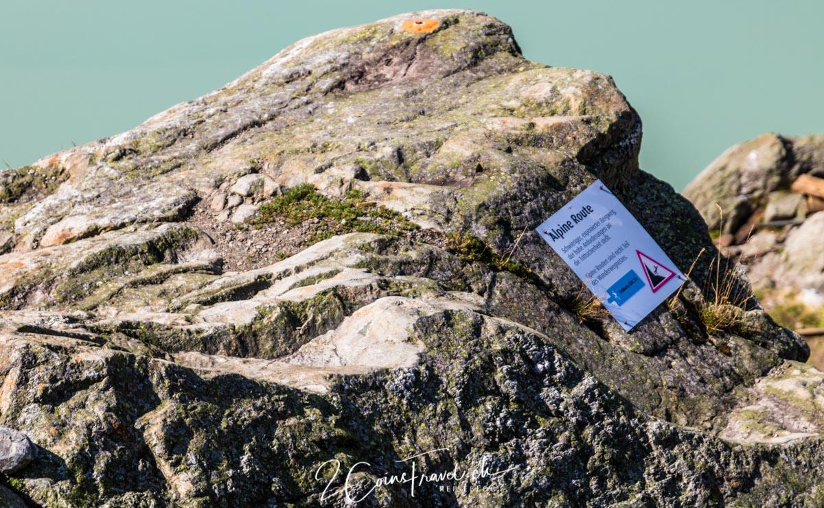 Alpinwanderweg Trifthütte