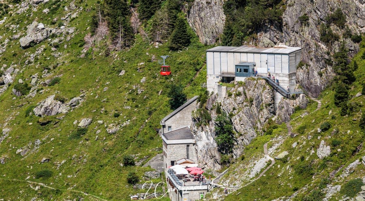 Triftbahn Bergstation