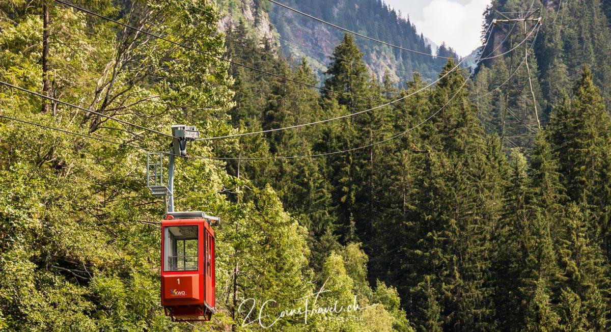 Gondel Triftbahn