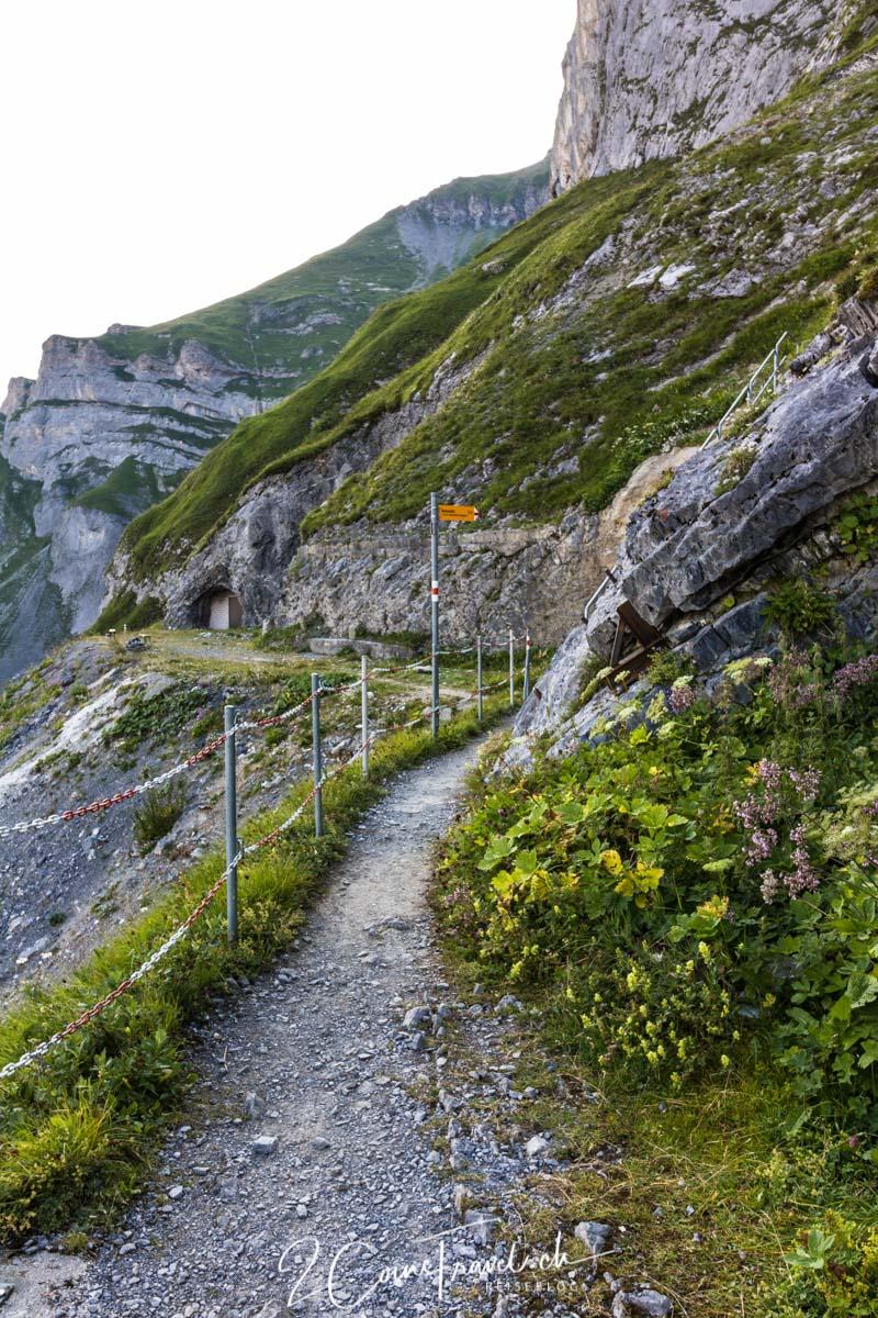 Wanderweg Kalktrittli