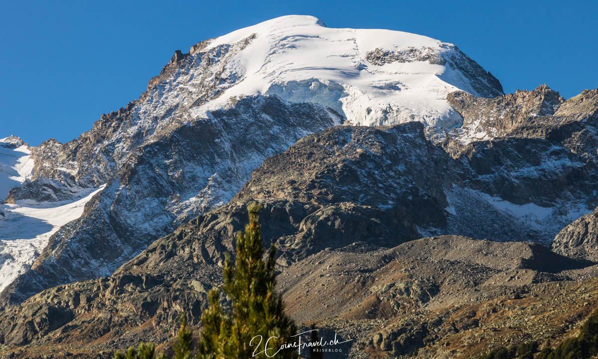Blick auf den Piz Bernina
