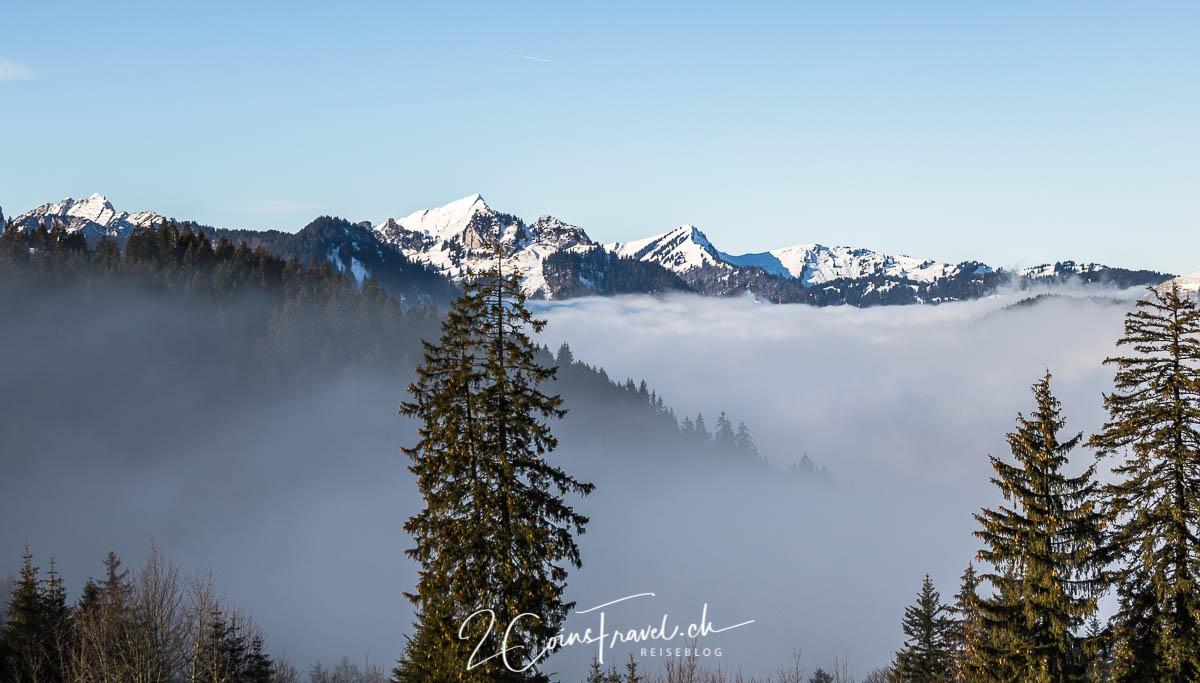 Nebelmeer Chäserrugg