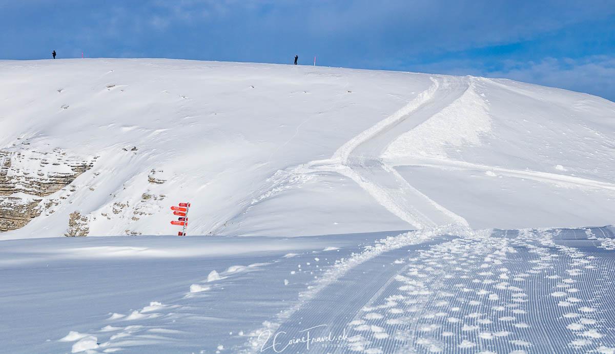 Winterwanderweg Rosenboden Chäserrugg