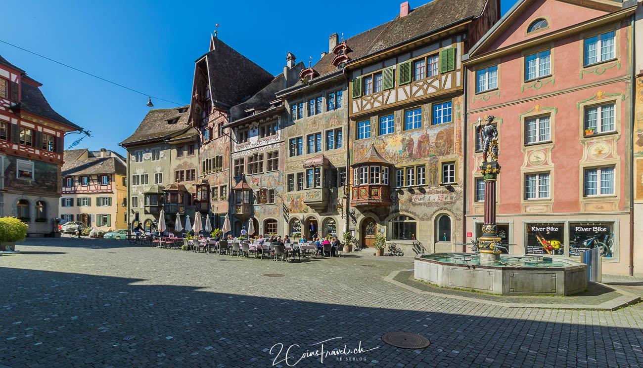 Rathausplatz in Stein am Rhein